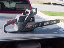 Craftsman 18 Inch Gas Chain Saw in Tinley Park, Illinois