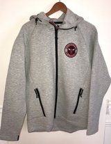 NEW Chicago Bulls NBA 1966 Mens Zip Up Hoodie Jacket Size Large in Morris, Illinois
