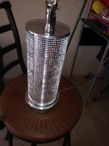 Retro  Diamond Table Desk Glass Lamp in Travis AFB, California