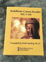Buddhism course reader SDSU REL S338 in Camp Pendleton, California