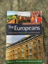 The Europeans A geography of people, culture, and environment in San Diego, California