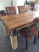 Farm Table and four chairs in Fort Riley, Kansas