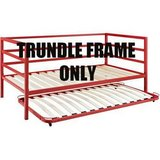 DHI Parsons Twin Trundle Bed Frame (Red) - NEW! in Plainfield, Illinois