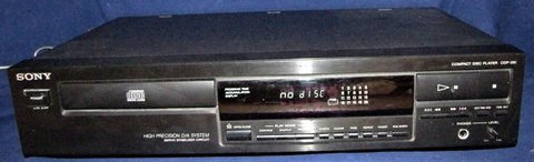 sony cd player cdp- 291 compact disc player single disc tested working in Tacoma, Washington