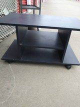 Black Rolling Shelve Stand in Roseville, California