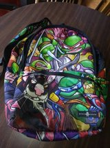 "18.5"" Teenage Mutant Ninja Turtles Canvas Backpack School Travel Space in Beale AFB, California"