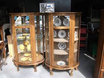 DISPLAY ALL WOOD CASES,2 OF THEM $120 reduced    DOWNERS GROVE, in Tinley Park, Illinois