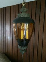 Reduced...Fun Funky Gothic  50s Hanging Swag Light in Chicago, Illinois
