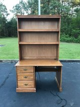 Desk w/ Shelving Hutch in Camp Lejeune, North Carolina