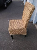 Caravan  Rattan Wicker Weave  Dining Chair in Beale AFB, California