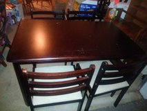 Dining room table with 4 Chairs in Beale AFB, California