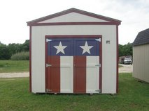 *** CUSTOMIZED ***  10x12 Utility Storage Shed in Navasota, Texas