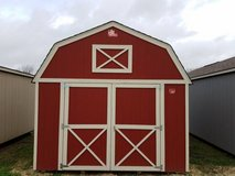 Pre-Owned 12x16 Lofted Barn Storage Shed in Navasota, Texas