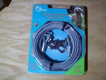 pet trends 30 foot heavy duty cable tie out up to 100 lbs -silver in Glendale Heights, Illinois