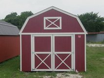 *** CUSTOMIZED*** Pre-owned 12x16 Lofted Barn Storage Shed in Conroe, Texas