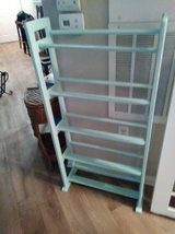 Sea Green wood rack I will be in Fairfield on 6/16 if you want me to bring this item in Roseville, California