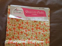 vintage fabric - new, still in original pkg, 4 yards, 100 % cotton in Joliet, Illinois