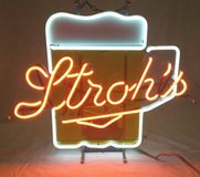 Stroh's Beer Mug Neon Sign in Naperville, Illinois