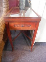 Mahogany Occasional Table(s) in Elgin, Illinois