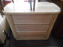 Wicker and Wood Chest in Elgin, Illinois