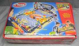 K'Nex Electronic Arcade Pinball Speedball Multi Game Building Toy 2001 in Oswego, Illinois