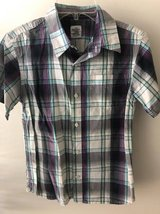 Boys Shirt Button Down Old Navy Size M 8/10 in Naperville, Illinois
