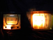 Glolite Colorama Television Lamp-Clock - 241 money - Works! in Camp Lejeune, North Carolina