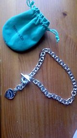 Like New Tiffany & Co. Heart Tag Necklace in DeKalb, Illinois