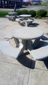 Concrete Patio / Picnic Tables- 3 Available in DeKalb, Illinois