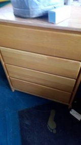 Oak 4 Drawer Chest Dresser in DeKalb, Illinois