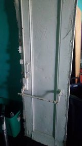 Antique Steel Loading Doors- Pair in DeKalb, Illinois
