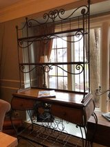 ~BEAUTIFUL IRON AND WOOD BAKERS RACK/BAR~ in Aurora, Illinois