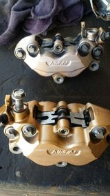 2003 - 2006 z1000 front brake calipers includes bolts 03 04 05 06 in Yucca Valley, California