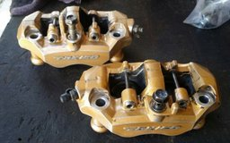 2003 - 2004 03 04 zx636 front calipers for parts/rebuild in Yucca Valley, California
