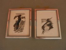 2 numbered & signed lithographs by listed artist David T. GROSE in Yucca Valley, California