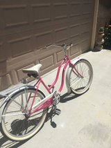 Manhattan Pink Beach Cruiser Bike in Fairfield, California