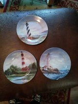 3 Lighthouse plates in Beale AFB, California