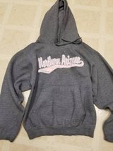 Northern Arizona grey hoodie for ladies in Camp Pendleton, California