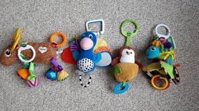 Baby stroller toys (4) in Plainfield, Illinois