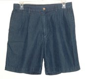 Nautica Rigger Pleated Classic Fit Denim Jean Shorts Mens Tag 34 x 7.5 in Chicago, Illinois