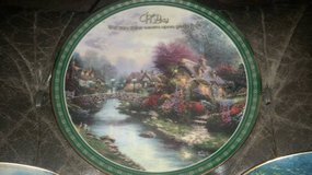 2 Thomas Kinkade Limited Edition  Collectors Plates, $15 for both in Travis AFB, California