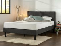 Zinus Full Size Platform Bed and Headboard - New! in Naperville, Illinois