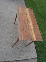 Antique Folding Sewing Table in Fort Leavenworth, Kansas