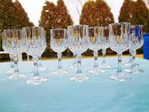 Cristal D'Arques Longchamp Cordial Glasses - Set Of 12 - L@@K! in Brookfield, Wisconsin