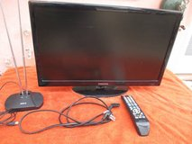 "SAMSUNG 22"" Flat screen 1080p TV w/remote and antenna in Yucca Valley, California"