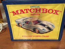 Vintage Matchbox carry case 1968 Lesney in Schaumburg, Illinois