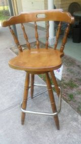Wood Bar Stool in Kingwood, Texas