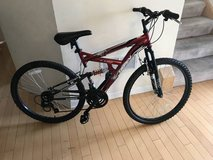 "Huffy 26"" Rock Creek Mountain Bike-Red in Naperville, Illinois"