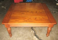 Solid Oak Coffee Table in Naperville, Illinois