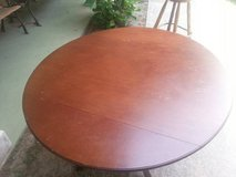Wood Dining Room Table & Four Wood Chairs in Cleveland, Texas